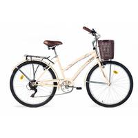 Bicicleta Olmo Amelie Traveller Con Cambios 6v Asiento Cuero