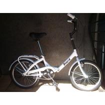 Bicicleta Plegable - Rod 20 - Retro Vintage