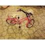Bicicleta Para Niña. Rodado 16. Color Rosado. Barbie