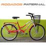 Bicicleta Rodado 24 Nueva Freno En Ambas Ruedas Dama Oferta!