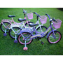 Bicicleta Rod 16 Con Canasto, Porta Equipaje Y Guardabarros