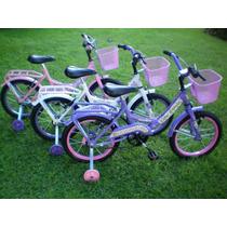 Bicicleta Rod 16 Paseo Nena Full