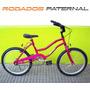 Bicicleta Rodado 20 Dama Nena Chica Joven Frenos Oferta!!!