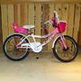 Bicicleta Sbk Recreo Rodado 20 Niña Paseo