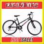 Bicicleta Mountain Bike Kelinbike R26 Cuadro Dama Negro