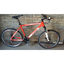 Bicicleta Mtb Fire Bird Con Frenos A Disco R 26 Suspension