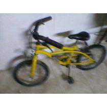 Bicicleta De Niño Con Muy Poco Uso