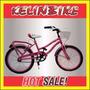 Bicicleta Playera Con Frenos Kelinbike R.20 Dama Con Canasto