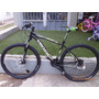 Bicicleta Rodado 29 Venzo Shimano 27 Vel. Susp C/bloq Disco