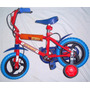 Bicicleta Rodado 12 Con Rueditas Estabilizadoras.la Plata