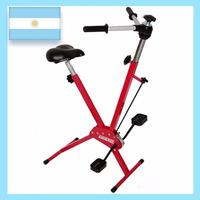 Bicicleta Fija Plegable C/ Remos 120kg Fabricante C/garantía