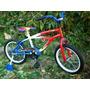 Bicicleta Rod 16 Playerita Con Rueditas (fabrica - Gtia )