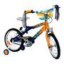 Bicicleta Infantil Rod 16 Boca Dzx Stark 6073 Llantas Metal