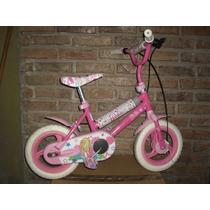 Bicicleta De Nena Barbie, Muy Buena !!!