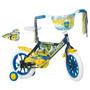 Bicicleta Infantil Rod 12 Dzx Boca Jrs. Para Niño Nena Varón