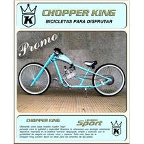 Bicimoto Chopper King London Sport Promocional