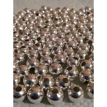 Bolitas Metal Color Niquel O Plata