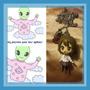 Collar Muñequita Anime Plastica Importada