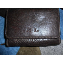 Billetera Dama De Cuero Marca Xl S 199,50