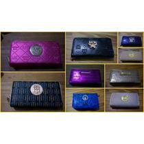 Billetera Sobre Con Cierre Doble Distintos Colores Y Modelos