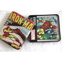Billetera Cuero Marvel Iroman De Colección!! Originales!!