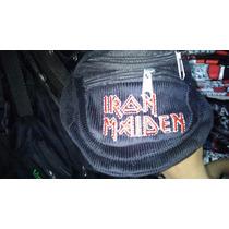 Riñoneras Iron Maiden - Envíos A Todo El Pais