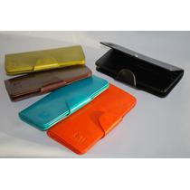 Billeteras De Mujer Cuero. Varios Colores.