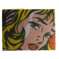 Billetera De Papel Tyvek Lichtenstein Pop Art