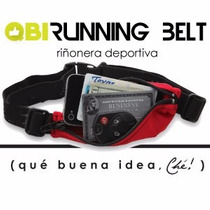 Riñonera Expansible Running Deportiva Porta Valores Qbi Ché