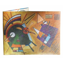Billetera De Papel Tyvek Kandinsky
