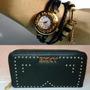 Billetera+reloj Importadas Mujer Combo Día Madre Oferta !!