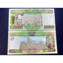 Billete De Guinea - 500 Francos - 2012 - Sin Circular