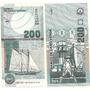 Billete Cabo Verde 200 Escudos Año 2005 Barco Sin Circular