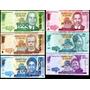 Malawi Set De 6 Billetes 2013 Al 2015 Sin Circular