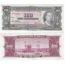 Bolivia, 3 Billetes Diferentes (lote A1)