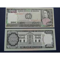 1982 - Bolivia - 1000 Pesos Bolivianos - Sin Circular