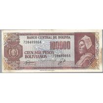 Bolivia 100000 Pesos Bolivianos 1984