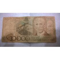 Billete De 10.000 Cruzeiros Brasil