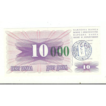 Bosnia Herzegovina, Billete De 10000 Dinaras Sin Circular.