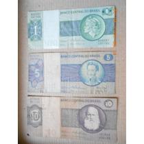 Billete Lote De 1, 5, 10 Cruzeiros Brasil (palermo)