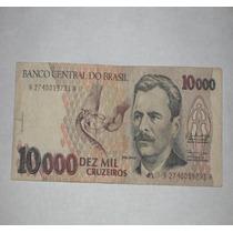 Billete Del Brasil 10000 Cruzeiros..