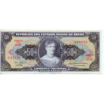 Brasil 50 Cruzeiro. Resellados 5 Cts N/cruz.bm 2034