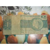 Billete De 1 Cruzeiro 1970 P/coleccionistas