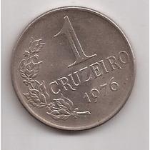 Brasil Moneda De 1 Cruzeiro Año 1976 !!!