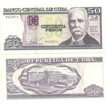 Billete De Cuba Año 2013 50 Pesos Sin Circular
