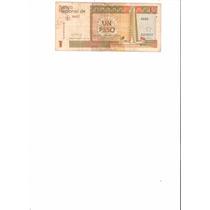 Liquido Billete De Cuba. 1 Peso 2013