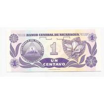 Nicaragua Billete De 1 Centavo De Cordoba !!!!!
