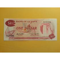 Billete - Dolar Guayanes - Guayana - Sin Circulacion