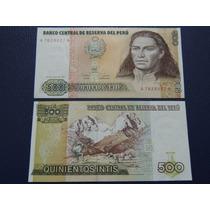 1987 - Perú - 500 Intis - Sin Circular
