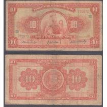 Billete Peru 10 Soles De Oro 1962